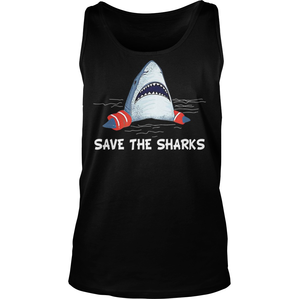 Save the sharks tank top