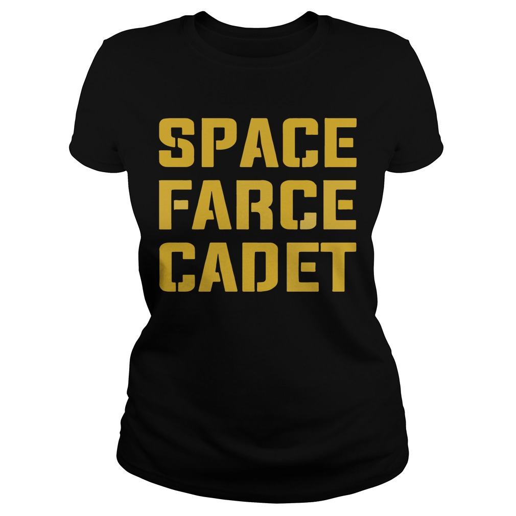 Space Farce Cadet ladies shirt
