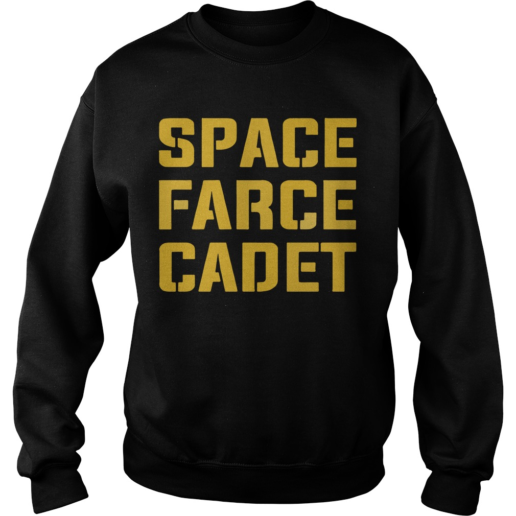Space Farce Cadet sweater