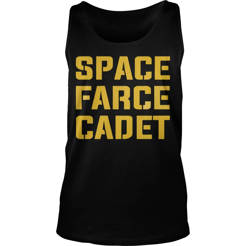 Space Farce Cadet tank top