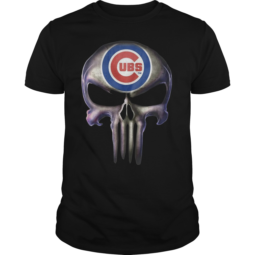 The Punisher shirts Chicago Cubs shirt
