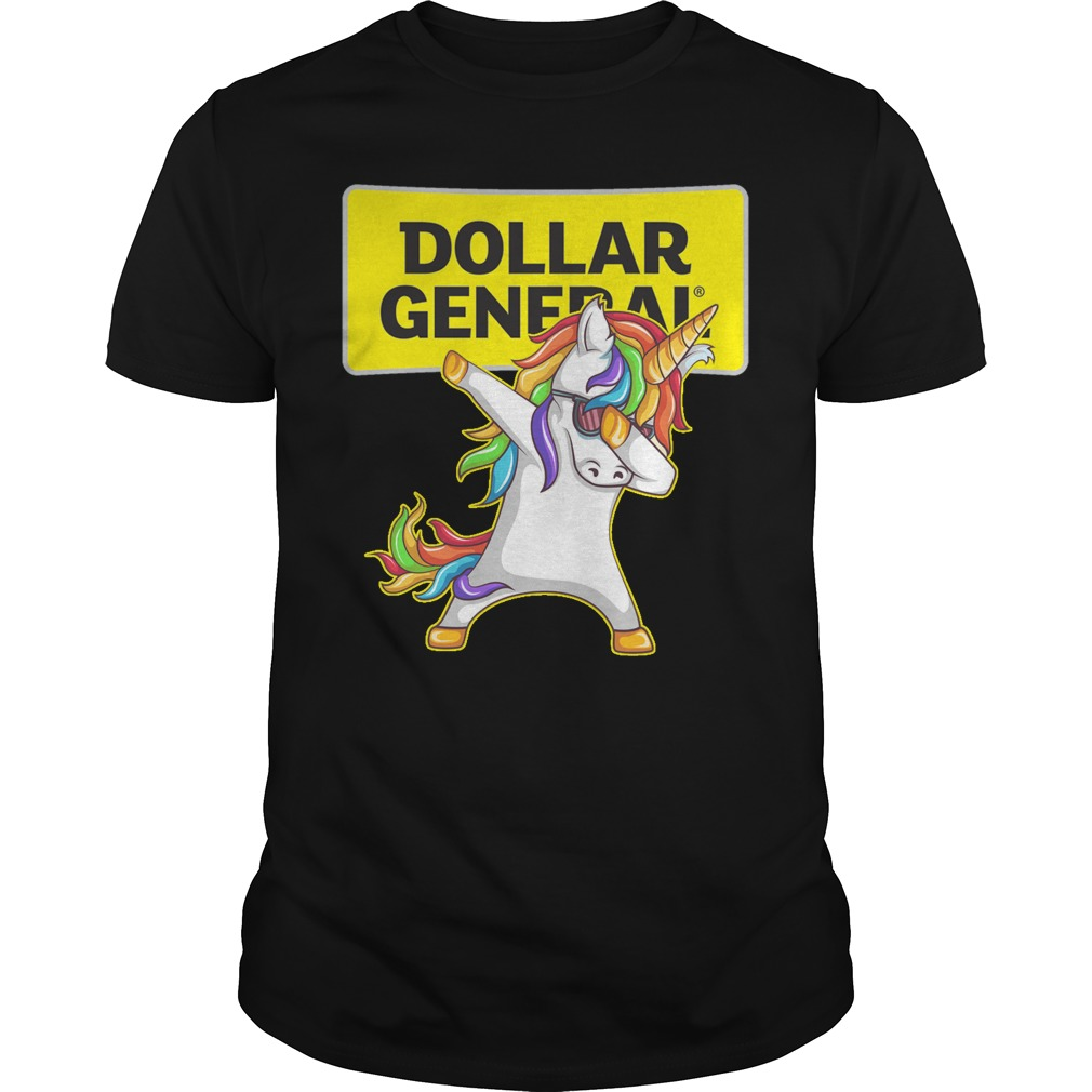 Unicon dabbing Dollar General shirt