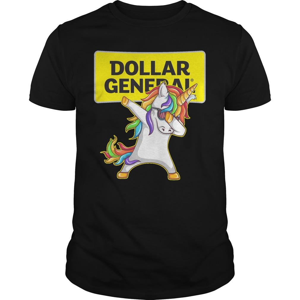 Unicon dabbing Dollar General shirt