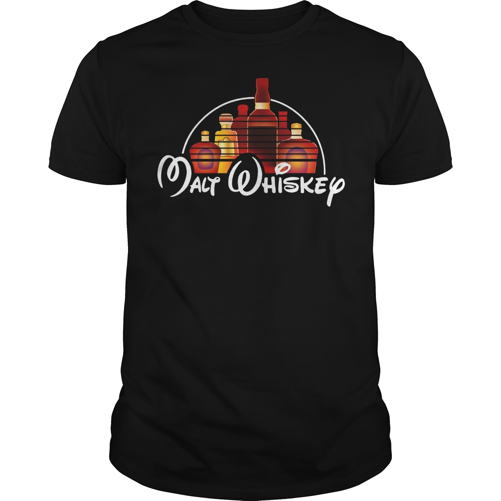 Walt Disney malt whiskey shirt