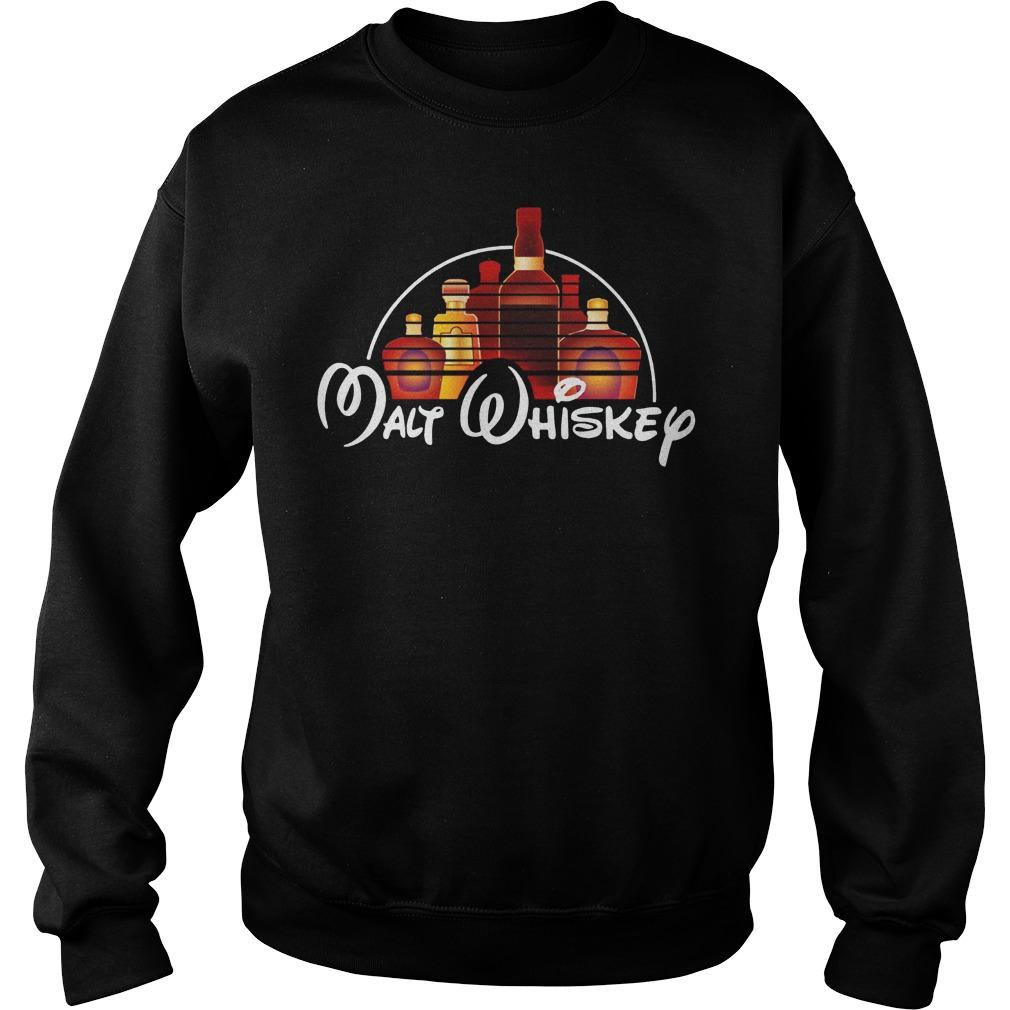 Walt Disney malt whiskey sweater