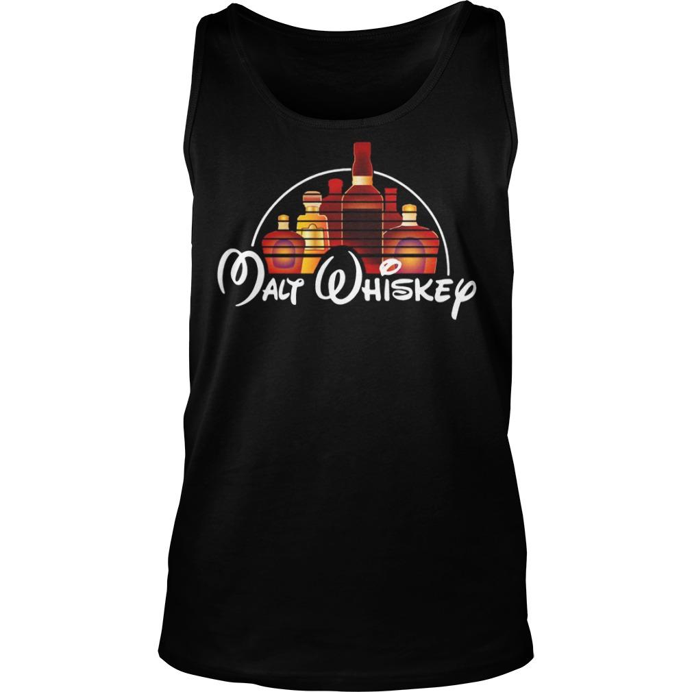 Walt Disney malt whiskey tank top