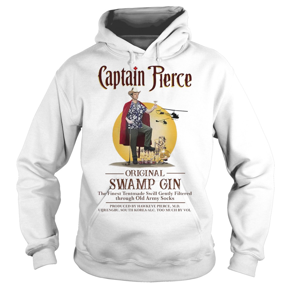 Captain Pierce original Swamp Gin hoodie