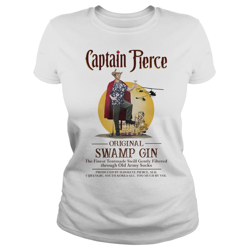 Captain Pierce original Swamp Gin ladies shirt