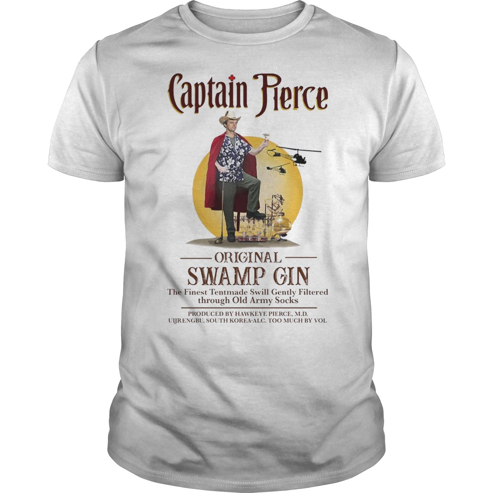 Captain Pierce original Swamp Gin shirt