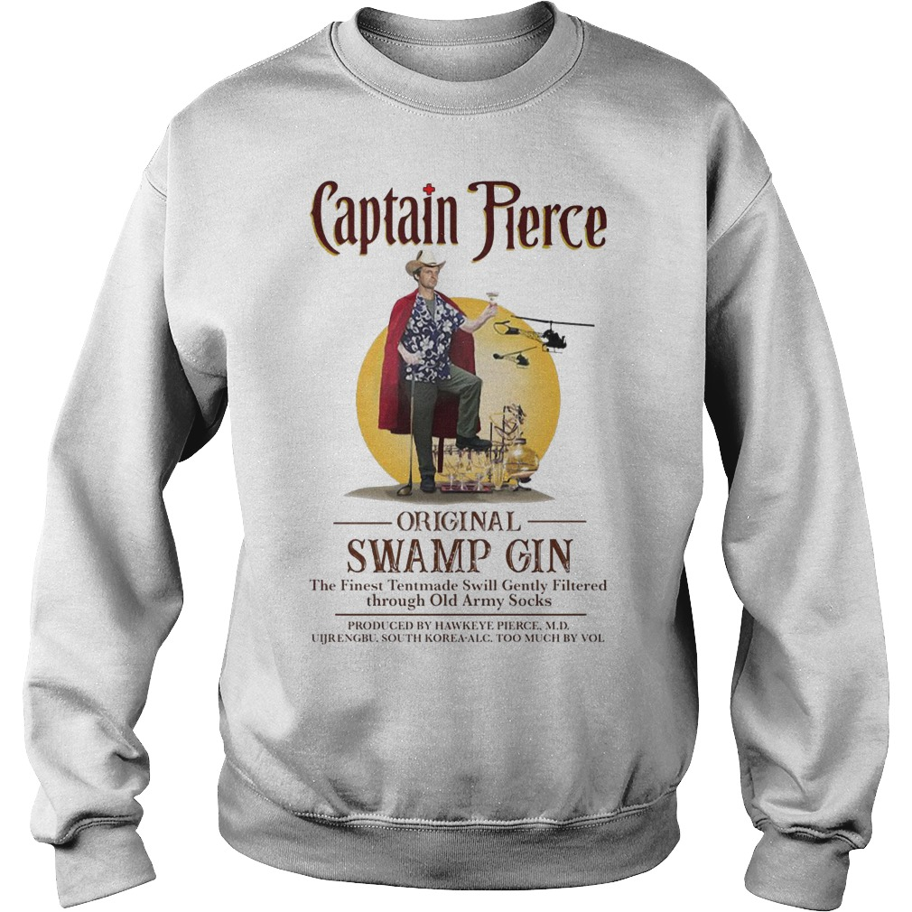 Captain Pierce original Swamp Gin sweater