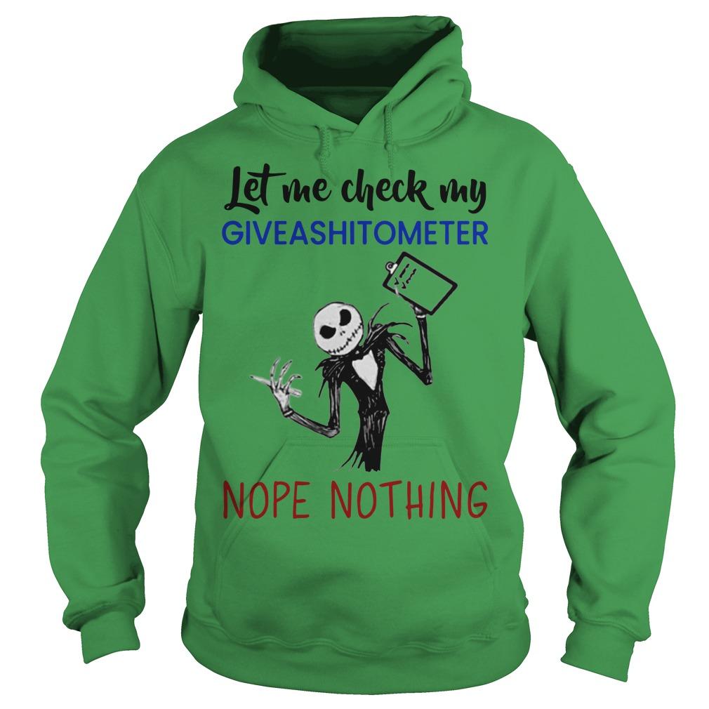 Jack Skeleton let me check my give a hoodieometer nope nothing hoodie