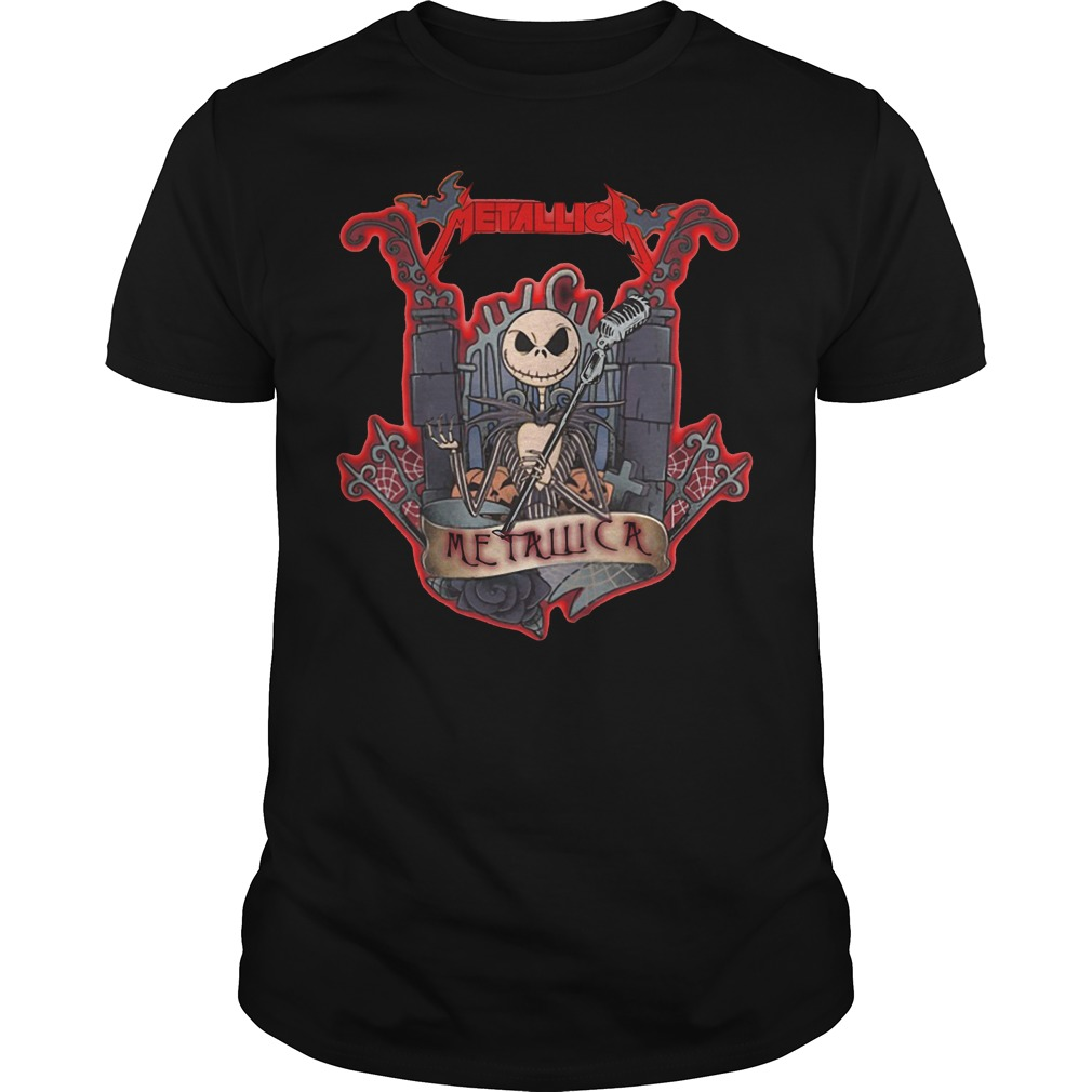 Jack Skellington Metallica shirt