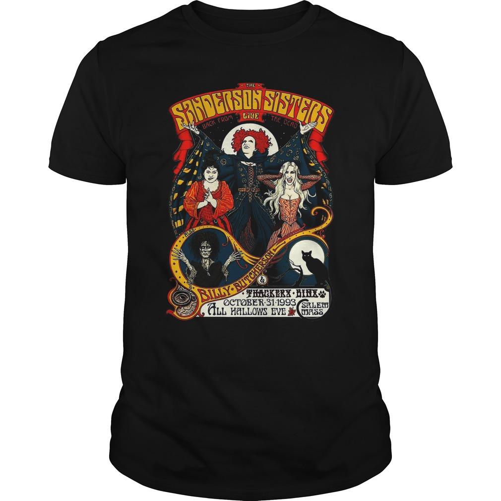 Sanderson sister hocus pocus billy butcherson shirt