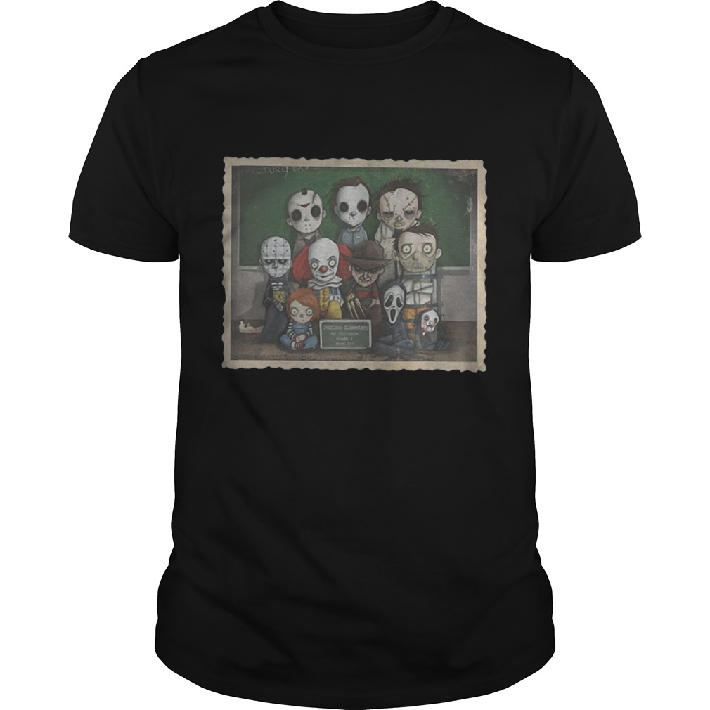 Tiny horror class Halloween shirt