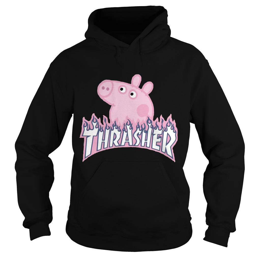 Pig thrasher hoodie