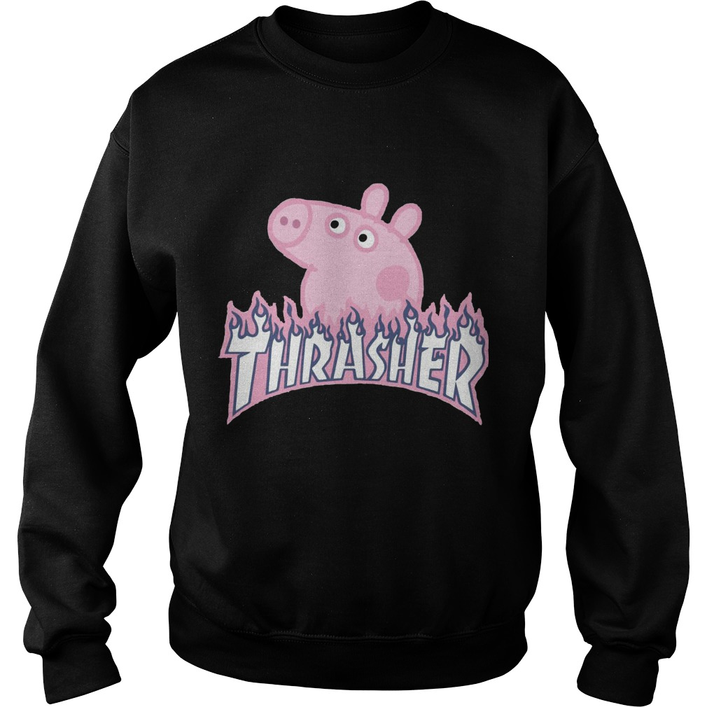 Pig thrasher sweater