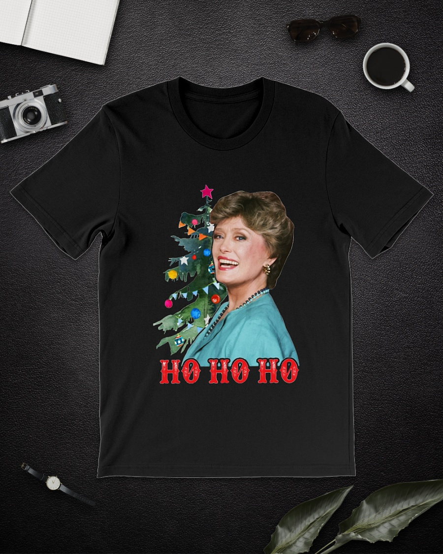 Blanche Devereaux Golden Girls ho ho ho shirt