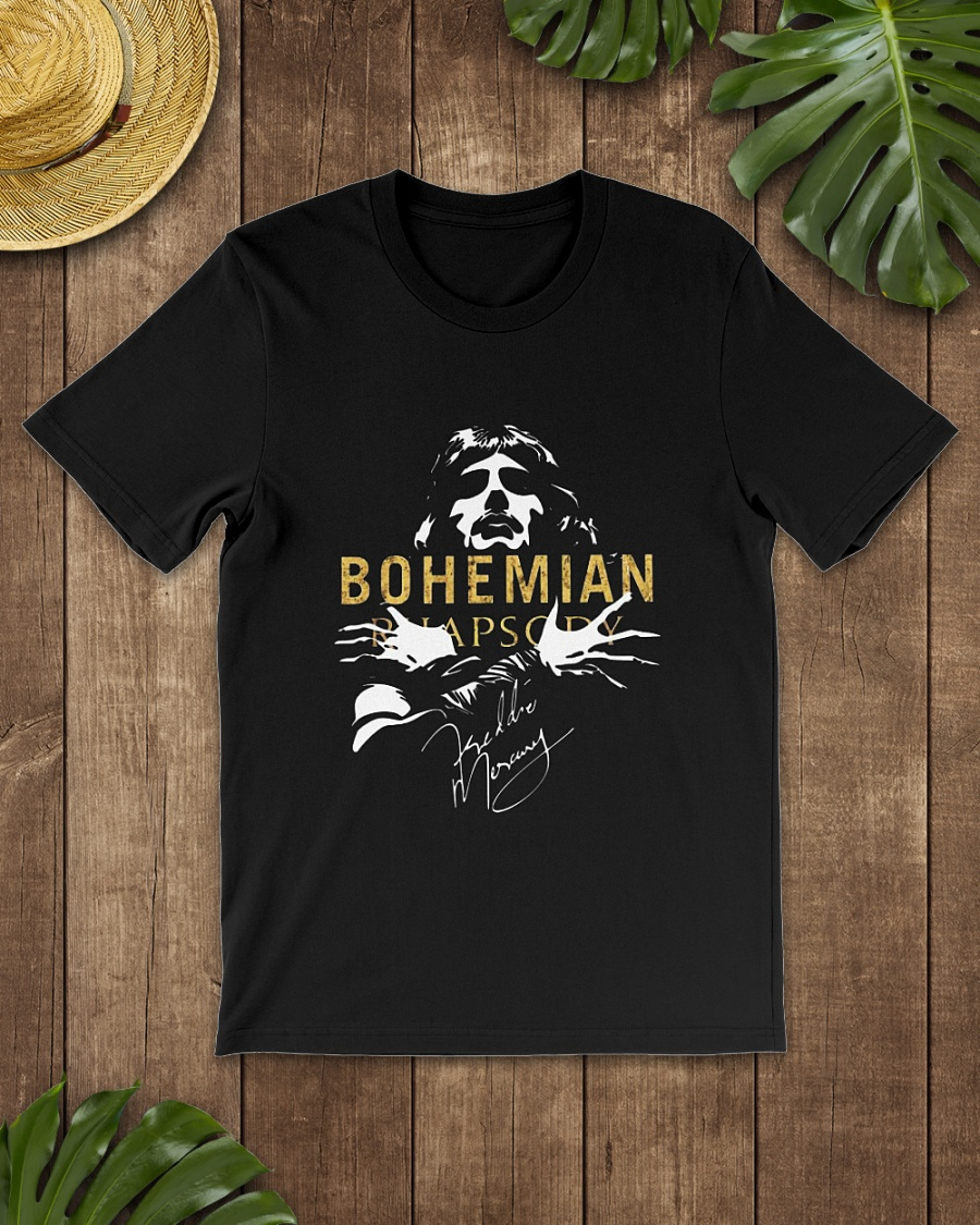 Bohemian Rhapsody signature shirt
