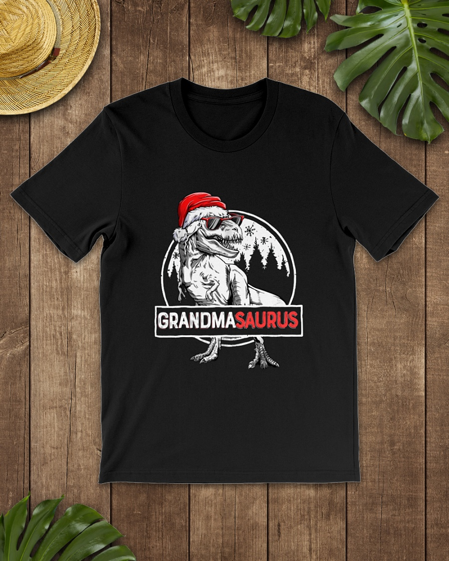 Santa Claus Grandmasaurus Christmas shirt