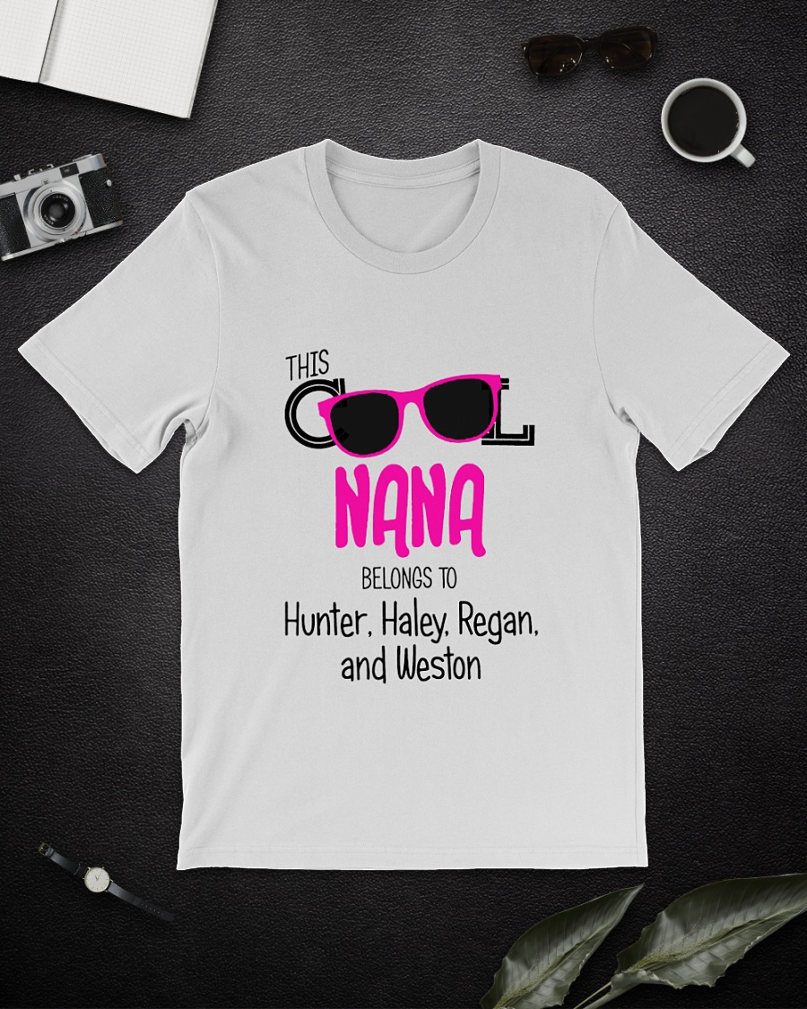 This cool nana belongs to Hunter Haley Regan and Weston shirt