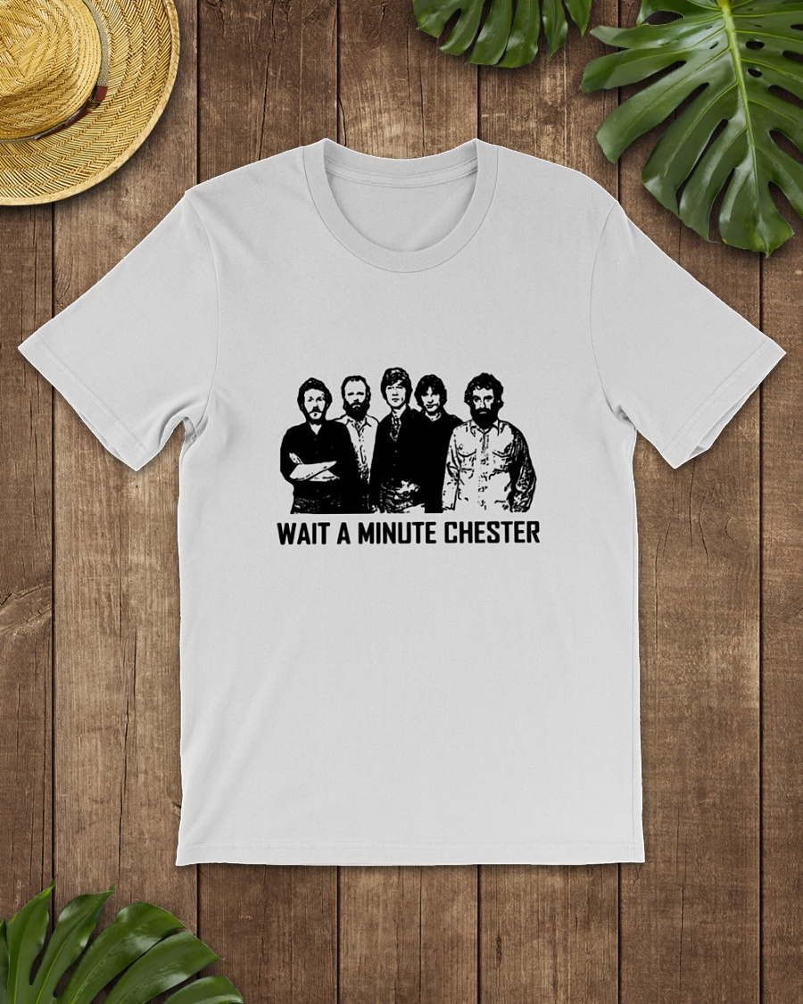Rhinovirus wait a minute Chester shirt