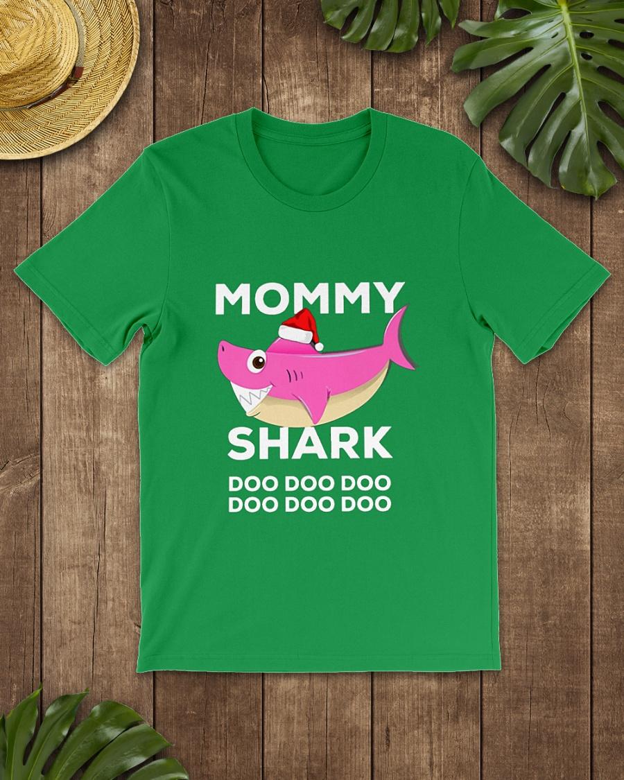 Mommy shark doo doo doo Christmas shirt