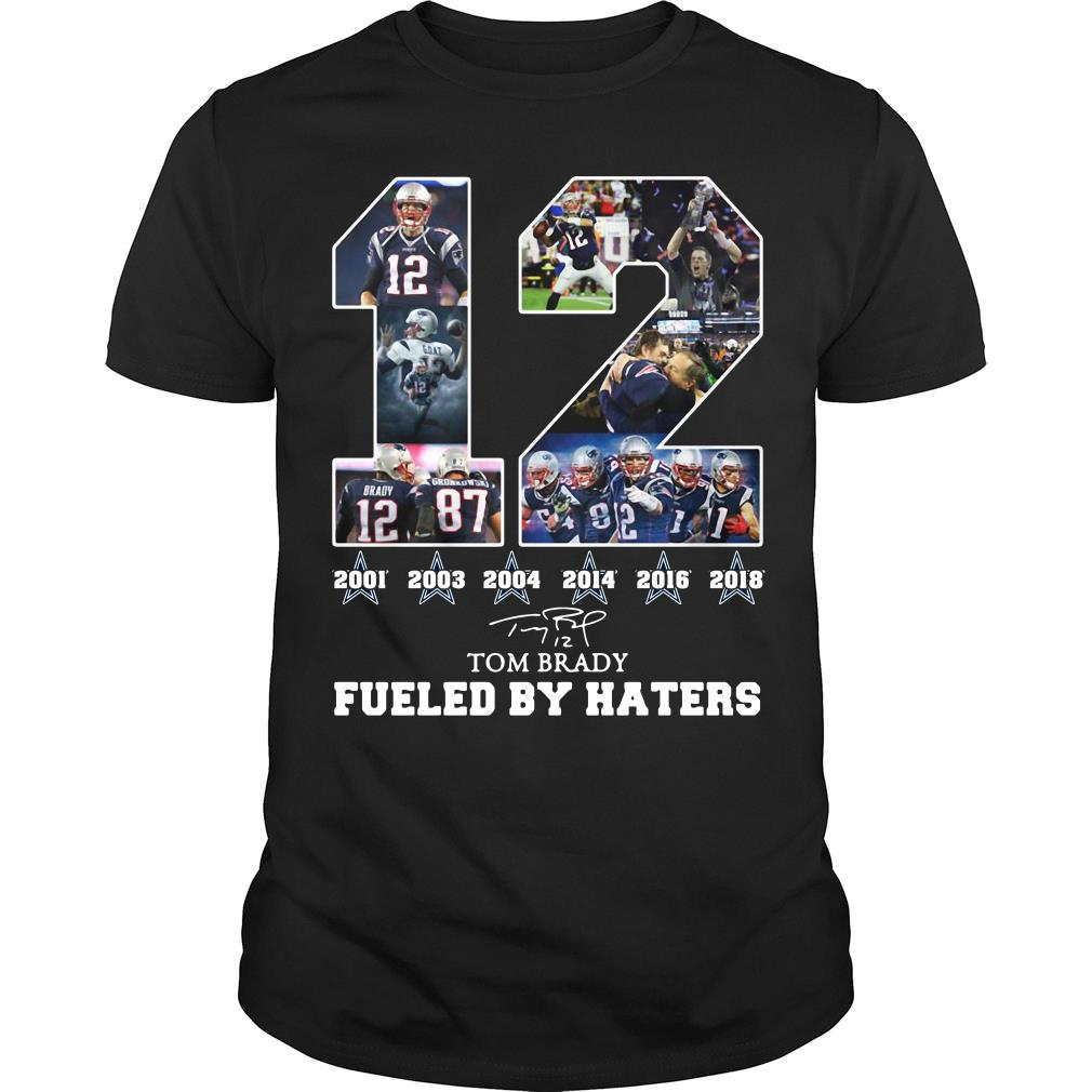 12 Dallas Cowboys Tom Brady Fueled By Haters Signature