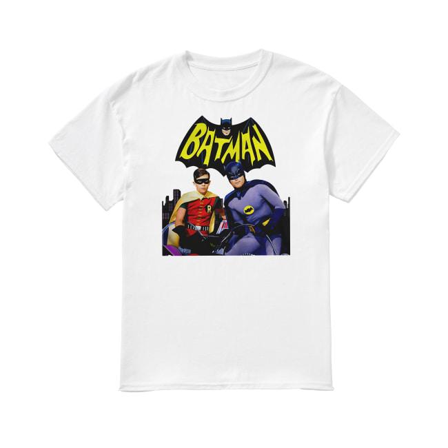 Batman and Robin shirt