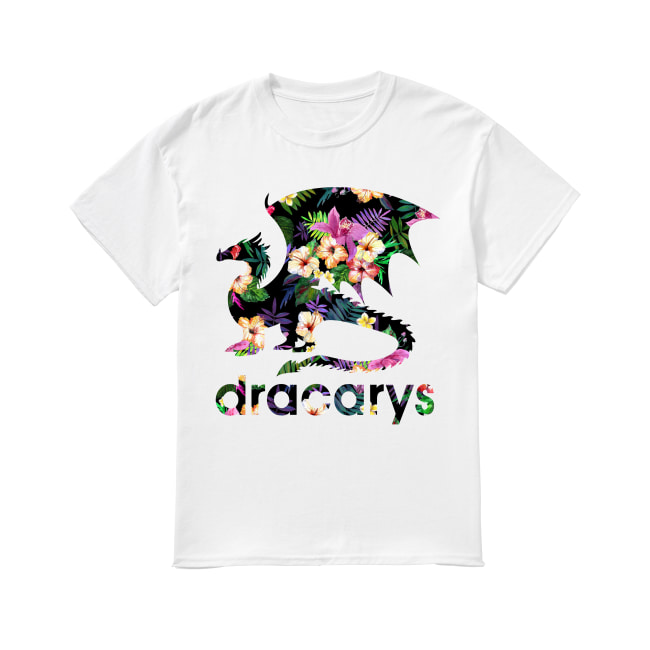 Dracarys floral shirt