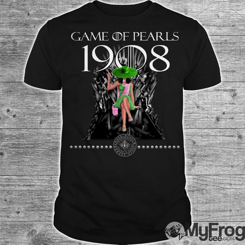 Game Of Pearls 1908 Game Of Thrones shirt