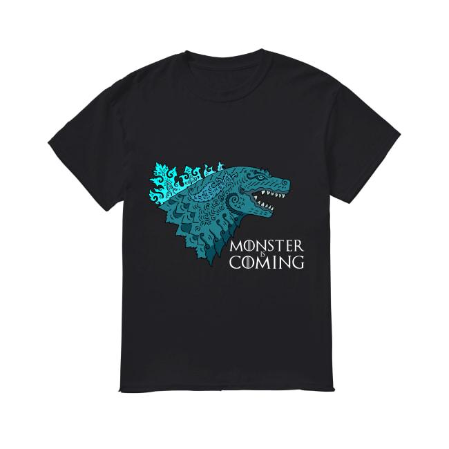 Godzilla Monster is coming shirt