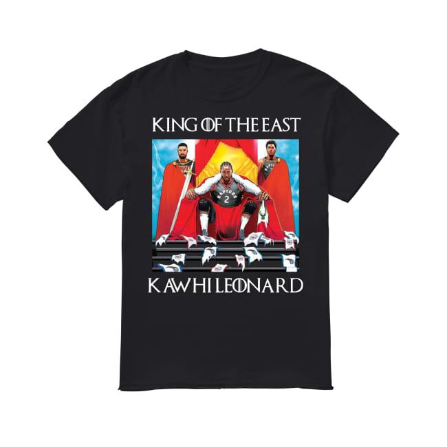 Kawhi leonard king of the east raptors drake canada toronto basketball shirt