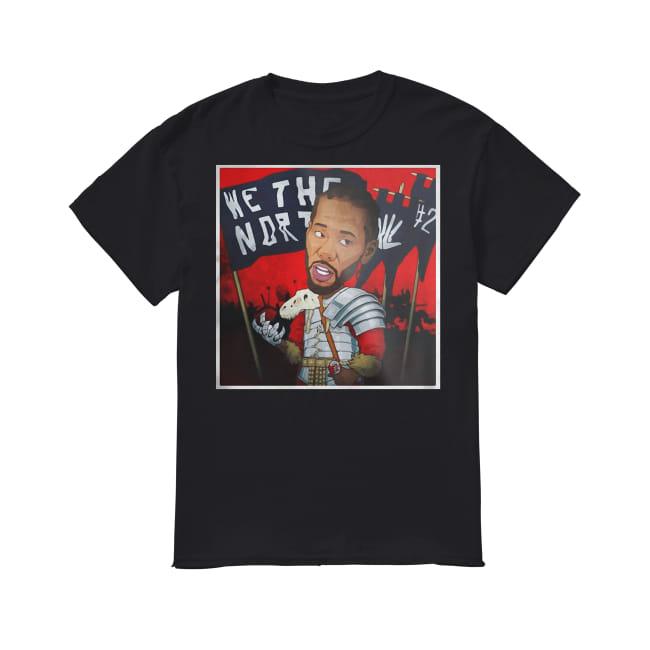 Kawhi Leonard We the North shirt