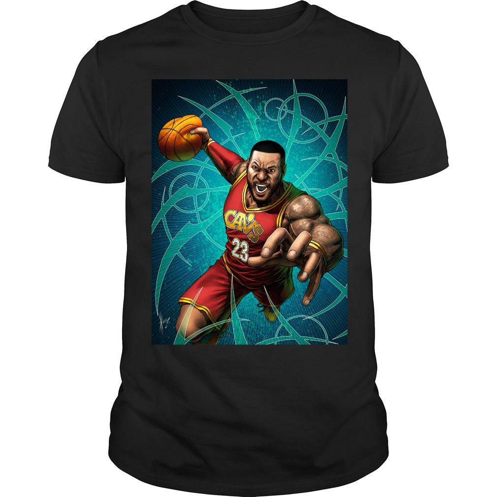 LeBron James Cavaliers Cleveland shirt-min