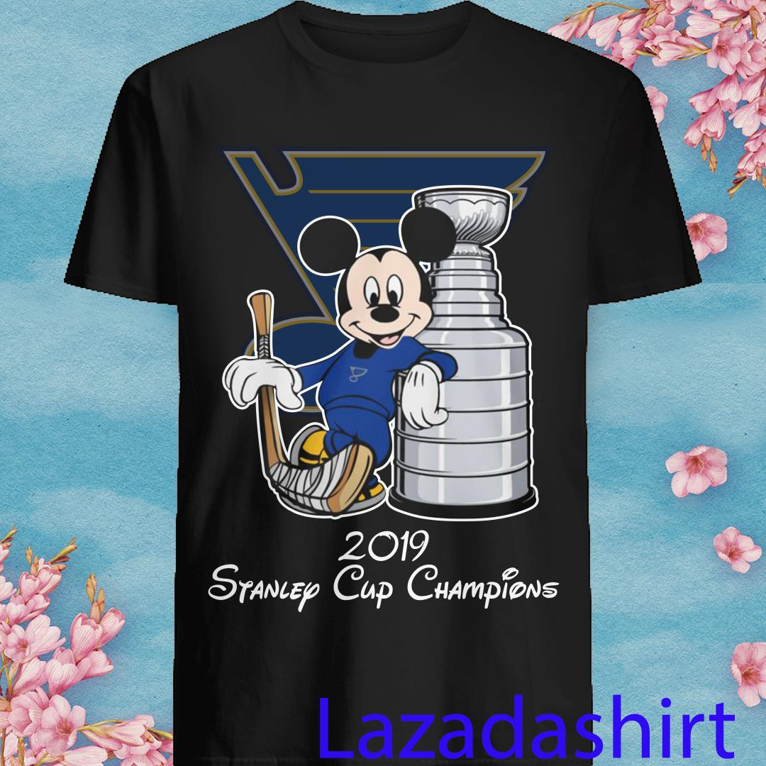Mickey St Louis Blues 2019 Stanley Cup Champions Shirt
