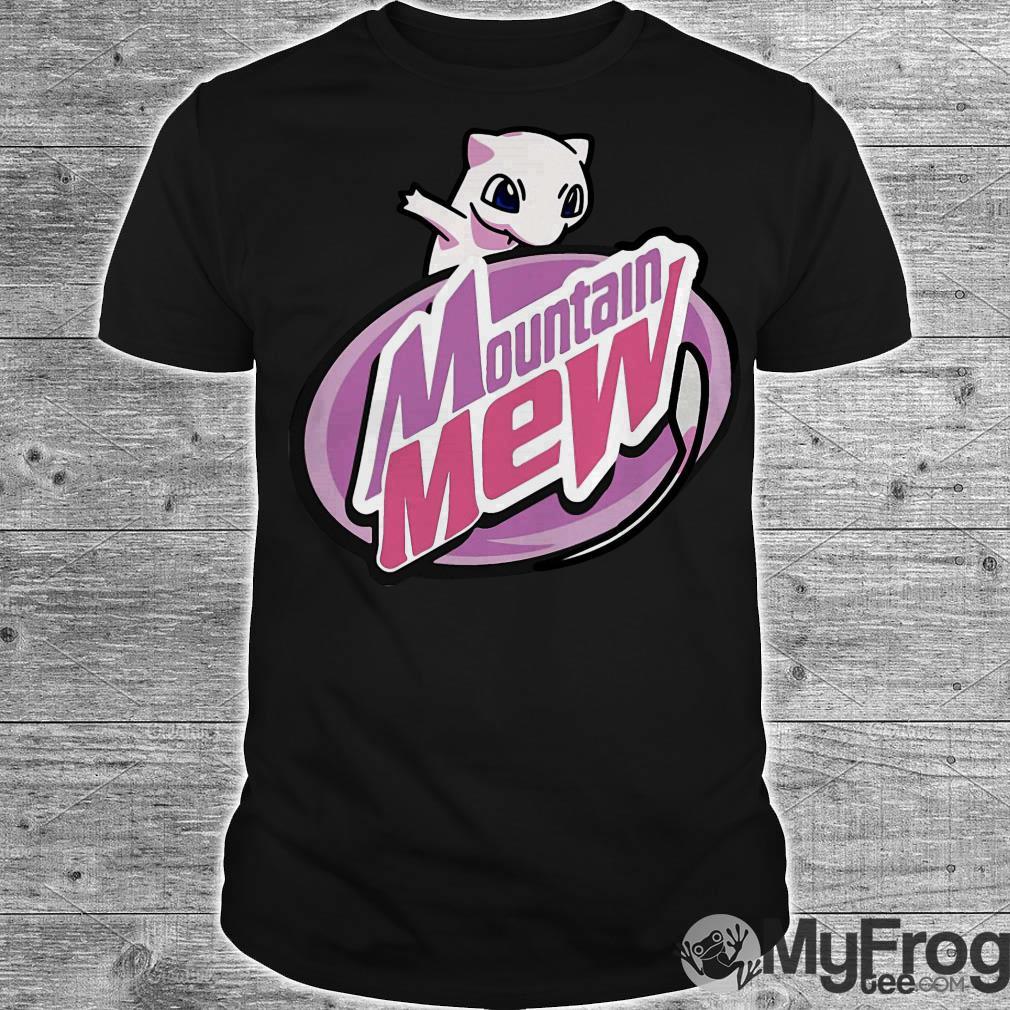 Mountain mew pokemon shirt