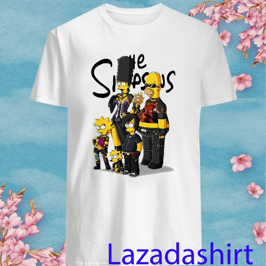 Rock N Roll Simpson family shirt