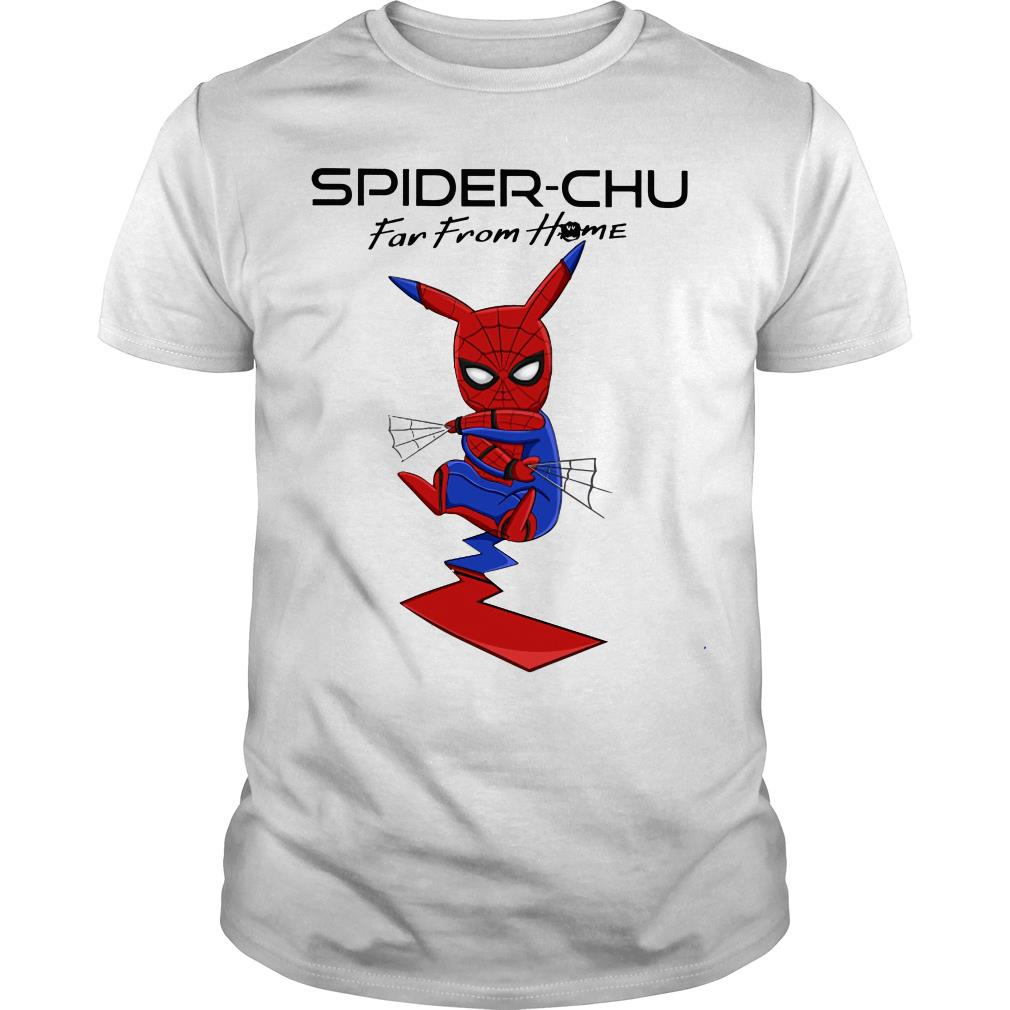 Spider-chu far from home shirt
