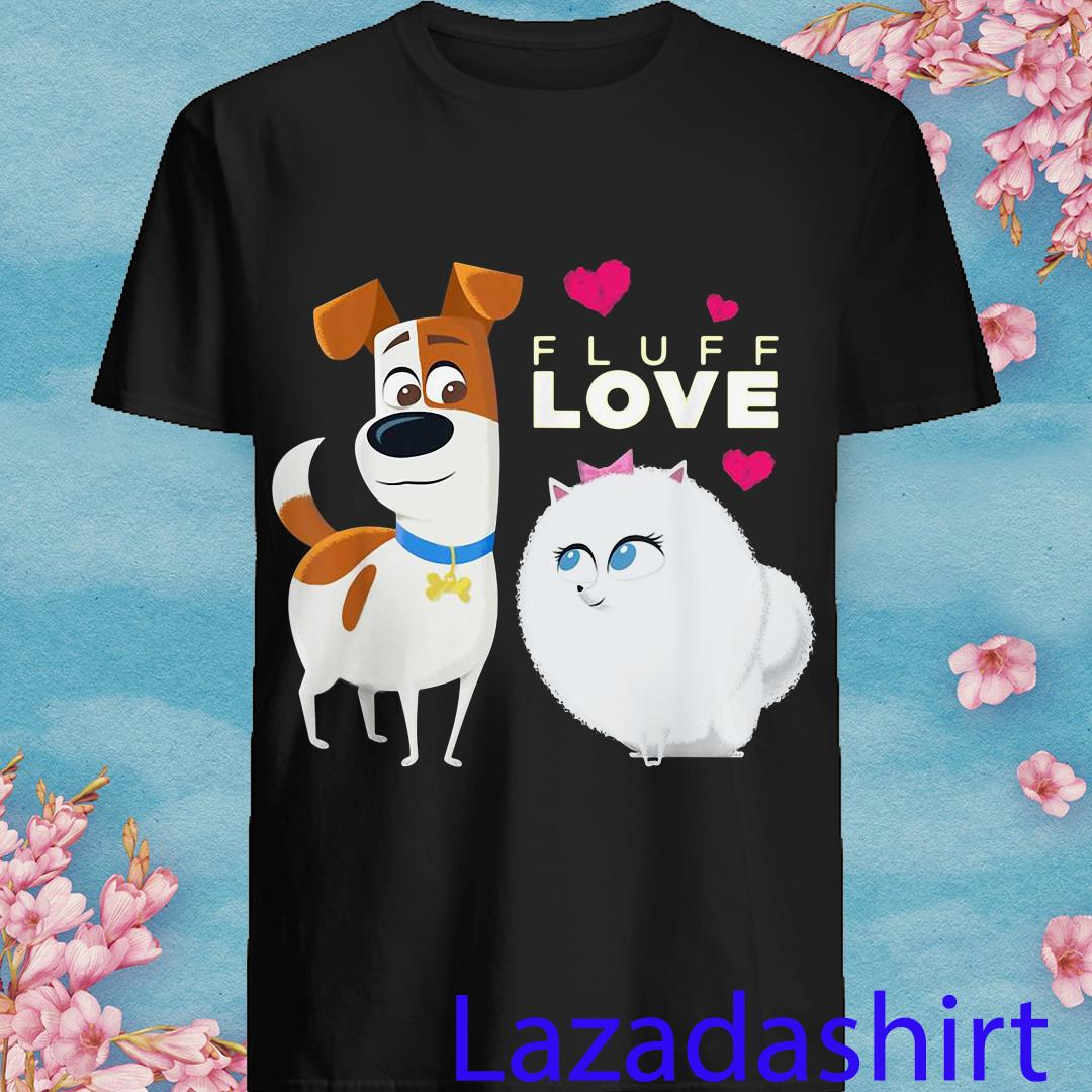 The Secret Life of Pets 2 Max and Gidget Fluff Love Shirt
