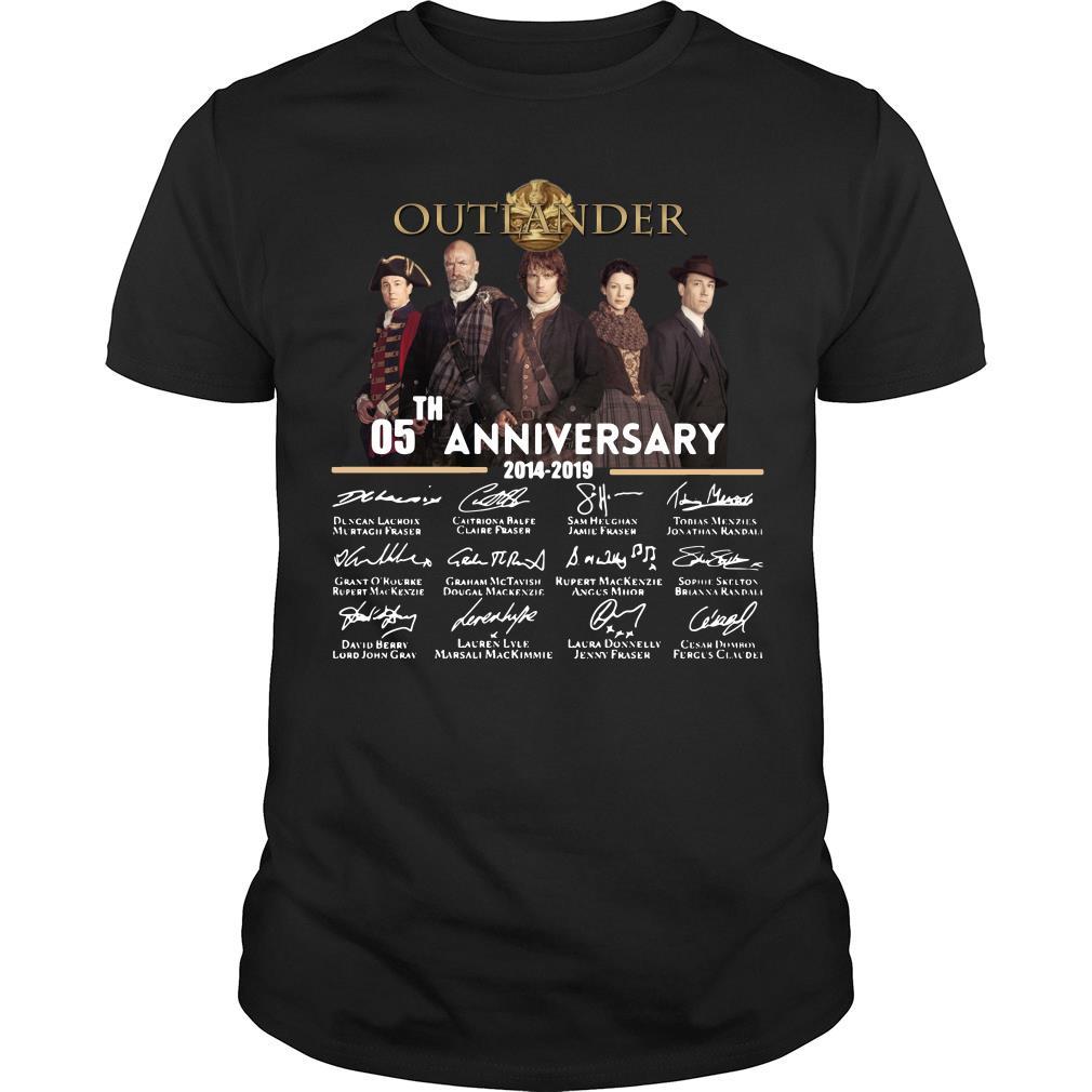 05th Anniversary Outlander Signature Shirt