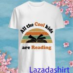 All the cool kids are reading vintage shirt