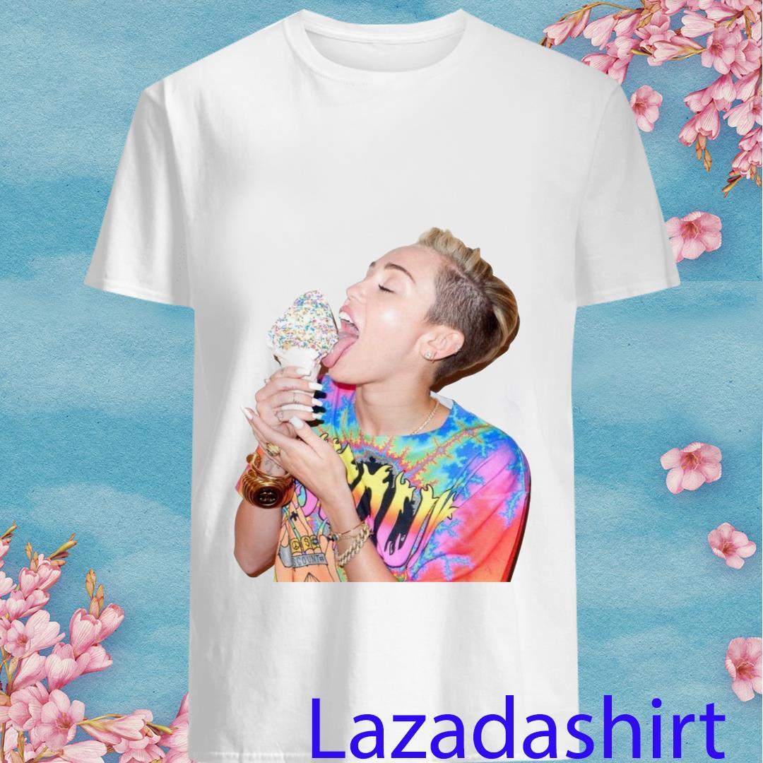 Miley Cyrus Ice Crea Shirt