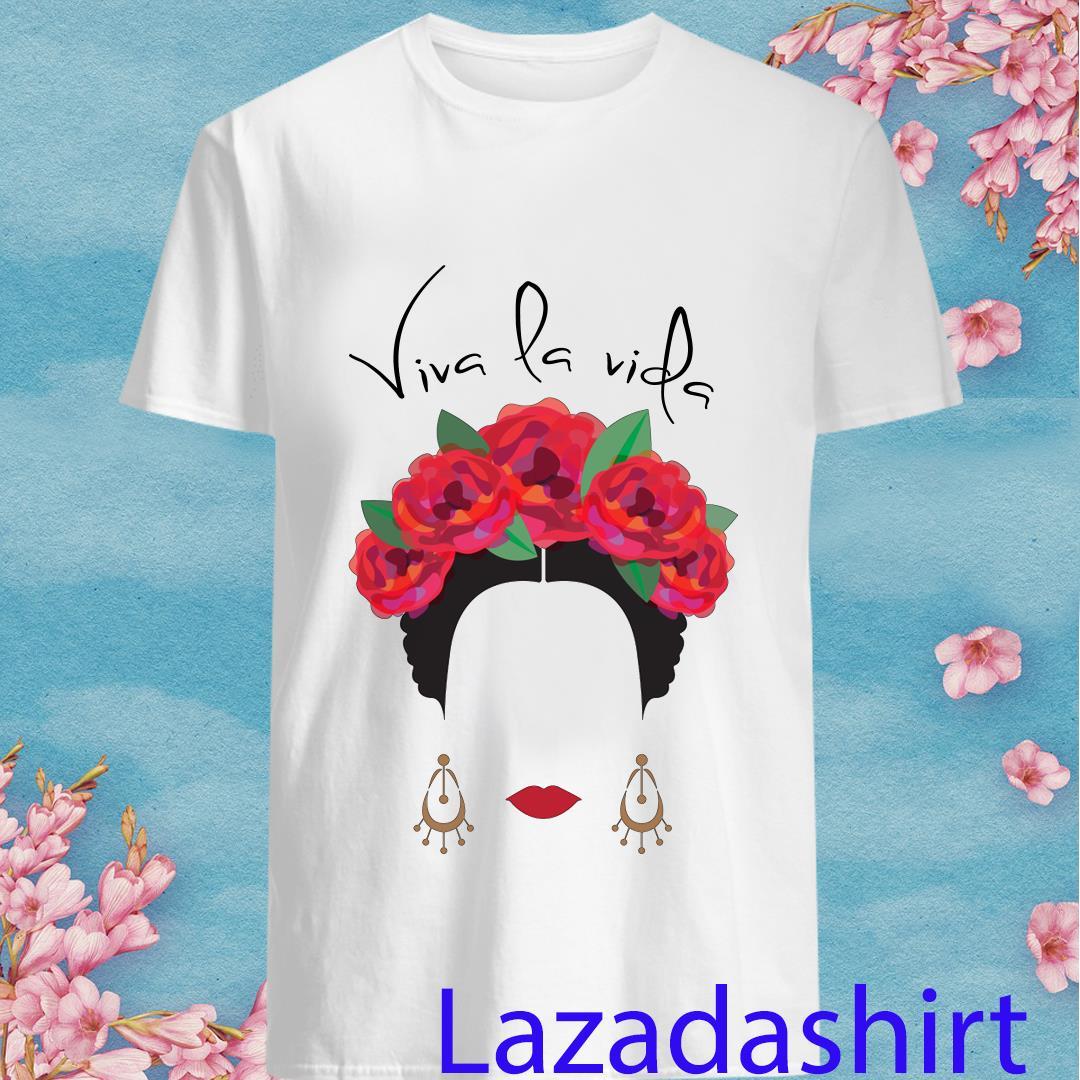 Tout Femme Frida Kahlo Viva La Vida Unisex Softstyle Shirt