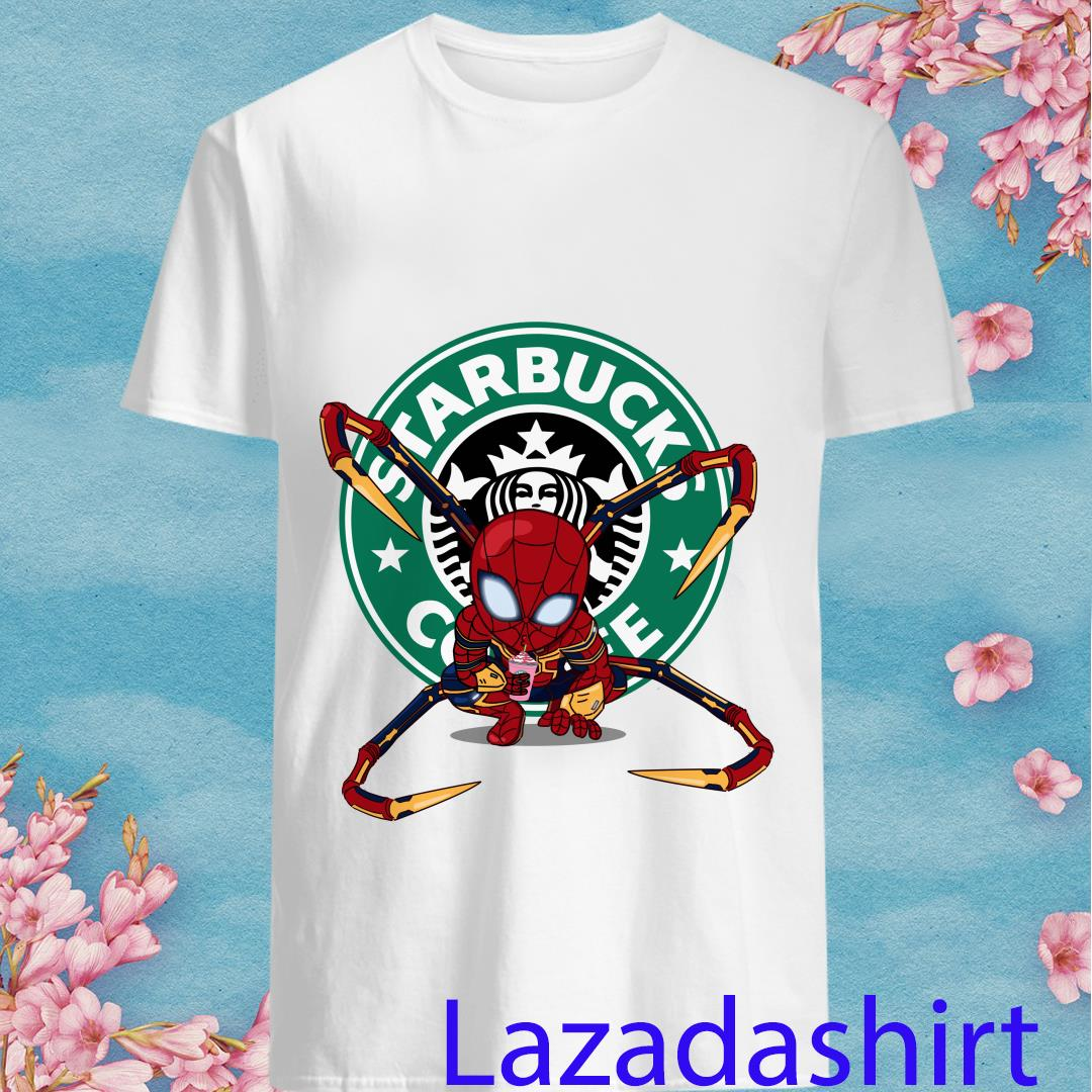 Spider-man Starbucks Coffee Shirt