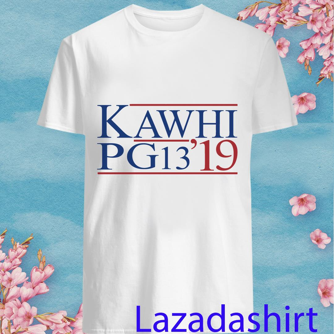 Clippers Kawhi PG13 Shirt
