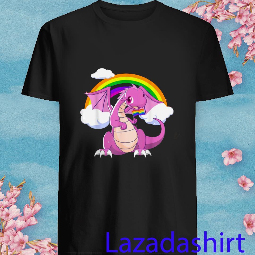LGBT Pride 2019 Dragon With Rainbow Shirt