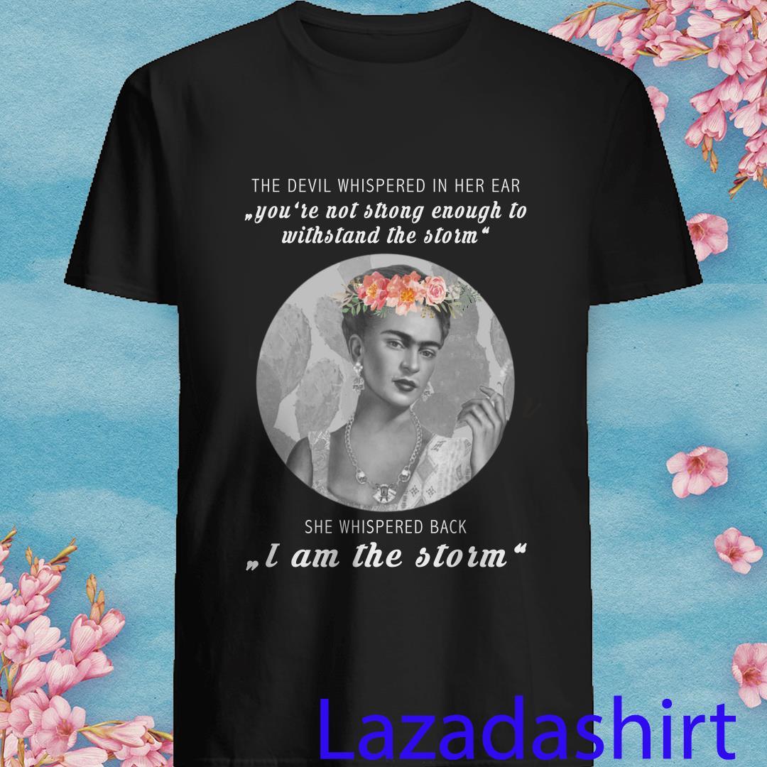 Frida Kahlo The Devil Whispered in Her Ear Shirt