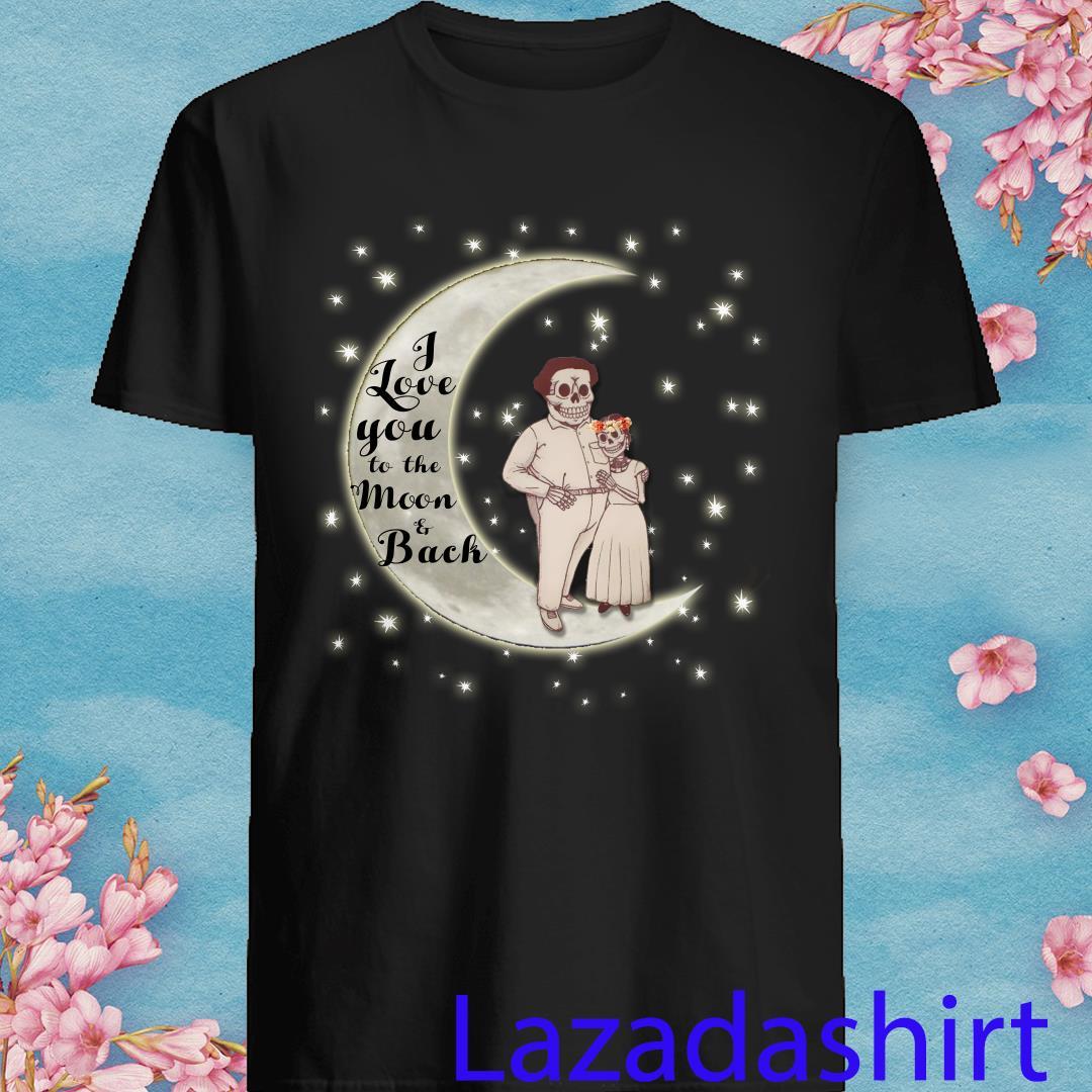 Frida Kahlo I Love You To The Mom And Back Shirt