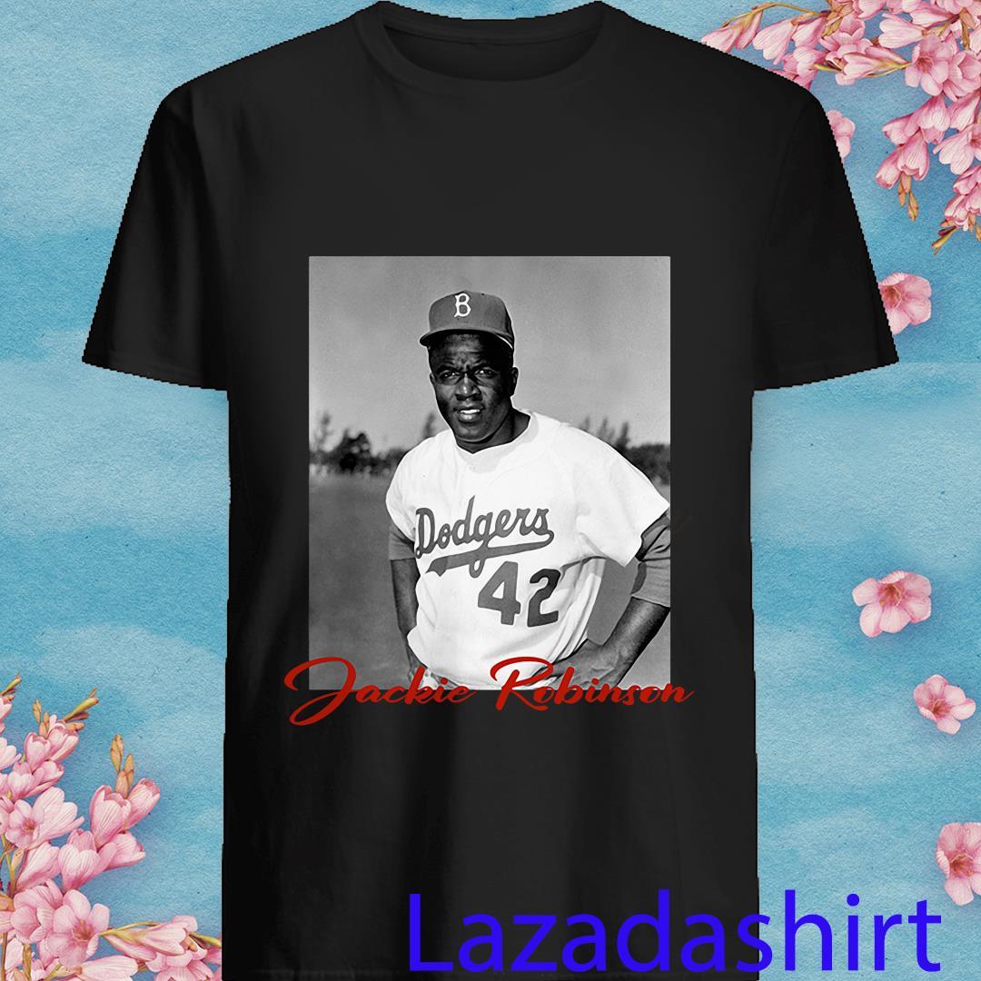 Allbluea Lebron James Jackie Robinson Shirt