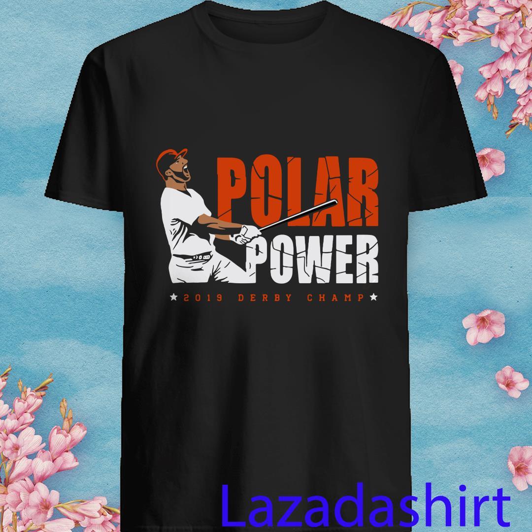 Pete Alonso Polar Power 2019 Derby Champ Shirt
